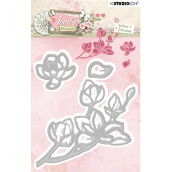 (STENCILLM212)Studio Light Cutting and Embossing Die Lovely Moments nr.212