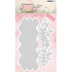(STENCILLM213)Studio Light Cutting and Embossing Die Lovely Moments nr.213