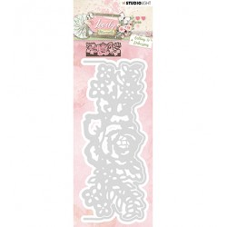 (STENCILLM215)Studio Light Cutting and Embossing Die Lovely Moments nr.215