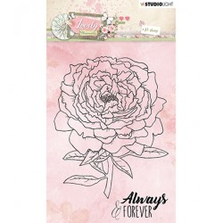 (STAMPLM386)Studio light Stamp Lovely Moments nr.386