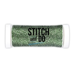 (SDCDS07)Stitch and Do Sparkles Embroidery Thread Forest Green
