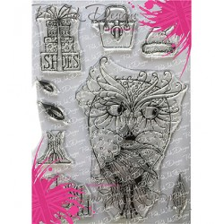 (PI033)Pink Ink Desings Classy Bird(Wings Serie)
