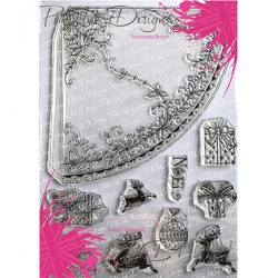 (PI034)Pink Ink Desings Festive Cone(Christmas Serie)