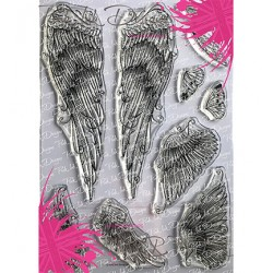 (PI038)Pink Ink Desings Flying High(Wings Serie)