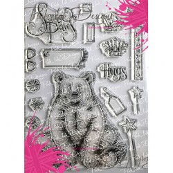 (PI039)Pink Ink Desings Bear Hugs(Fauna Serie)