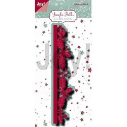 (6002/1230)Cutting dies Jingle Bells - Guirlande border