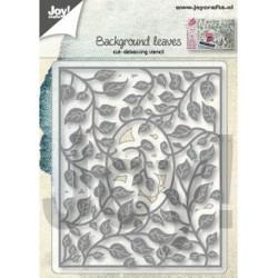 (6002/1286)Cutting & embossing dies background leaves