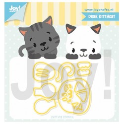 (6002/1321)Cutting dies Dear Kittycat
