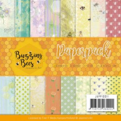 (JAPP10011)Paperpack - Jeanines Art - Buzzing Bees