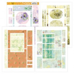 (JAFC20001)Printed Figure Cards - Jeanines Art - Buzzing Bees