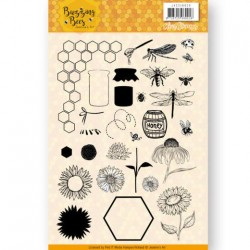 (JACS10028)Clear Stamps - Jeanines Art - Buzzing Bees