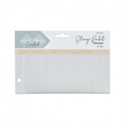 (CDESP002)Card Deco Essentials - Stamp Pockets A6