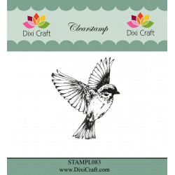 (STAMPL083)Dixi Craft Bird Clear Stamp