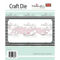 (PD7548)Polkadoodles Delicate Daisy Border Die