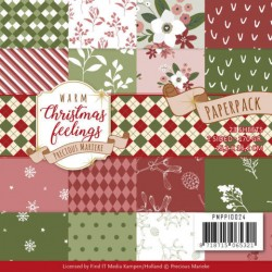 (PMPP10024)Paperpack - Precious Marieke - Warm Christmas Feelings