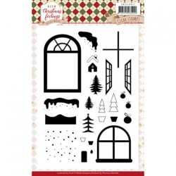 (PMCS10041)Clear Stamps - Precious Marieke - Warm Christmas Feelings