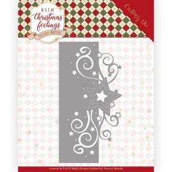 (PM10160)Dies - Precious Marieke - Warm Christmas Feelings - Swirl Star Edge