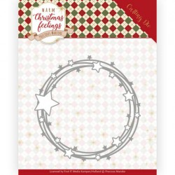 (PM10161)Dies - Precious Marieke - Warm Christmas Feelings - Star Circle