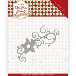(PM10162)Dies - Precious Marieke - Warm Christmas Feelings - Christmas Swirls