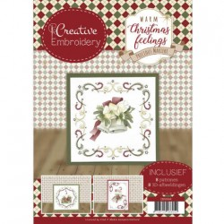 (CB10004)Creative Embroidery - Precious Marieke - Warm Christmas...