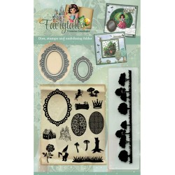 (FAIRYTALES001)Goody (Clear Stamps - Dies - Embossing Folder) - Yvonne Creations - Fairytales