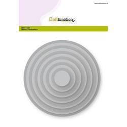 (115633/0901)CraftEmotions Big Nesting Die - circles