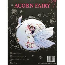 (PI010)Pink Ink Desings Set Acorn Fairy