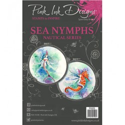 (PI025)Pink Ink Desings Sea Nymph
