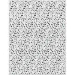 (EF3D-012)Creative Expressions Embossing folder Ribbon Swirls