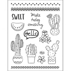 (4003 213 00)Clear Stamps - Kaktus