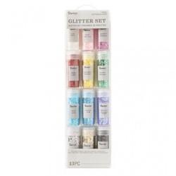 (30029676)Darice • Glitter set 13 stuks tinsel