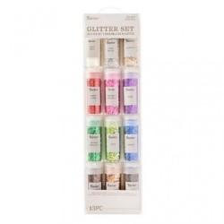 (30029677)Darice • Glitter set 13 stuks chunky