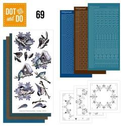 (DODO069)Dot and Do 69 - Winter Birds