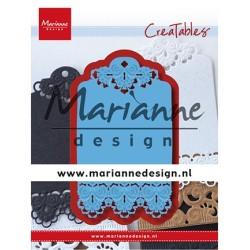 (LR0616)Creatables LR0616 - Brocante label