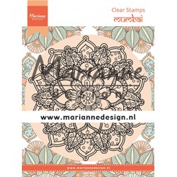 (CS1034)Clear stamp Mandala Mumbai