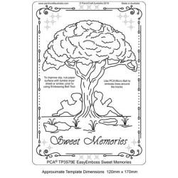 (TP3579E)PCA® - EasyEmboss Sweet Memories
