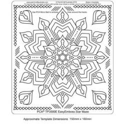 (TP3580E)PCA® - EasyEmboss Star Maze