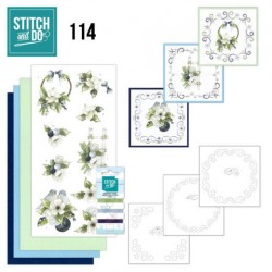 (STDO114)Stitch and Do 114 Blueberry Christmas