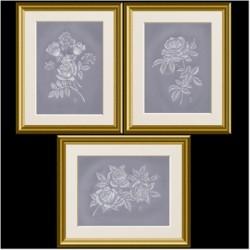(PP040)Adele Miller: Whitework Roses