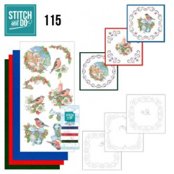 (STDO115)Stitch and Do 115 Christmas Birds