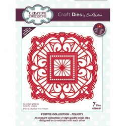 (CED3187)Craft Dies - The Festive Collection - Felicity