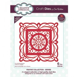 (CED3186)Craft Dies - The Festive Collection - Denise
