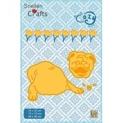 (SCCOD003)Snellen Crafts Cozy dies: Faithful friend