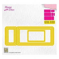 (SD172)Nellie's Shape Dies Ticket & tags: ticket-3