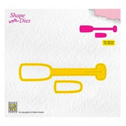 (SD173)Nellie's Shape Dies Ticket & tags: tag-1