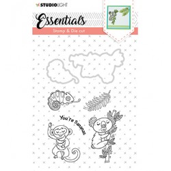 (BASICSDC29)Studio light Stamp & Die Cut Essentials Animals nr 29