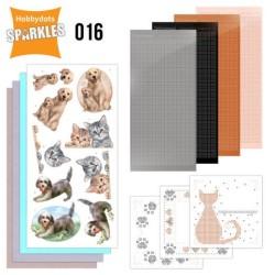 (SPDO016)Sparkles Set 16 - Cats & Dogs