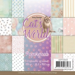 (ADPP10029)Paperpack - Amy Design - Cats World