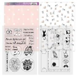 (ADMC1005)Mica Sheets - Amy Design - Cats World