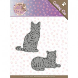 (ADD10187)Dies - Amy Design - Cats - Sweet Cats